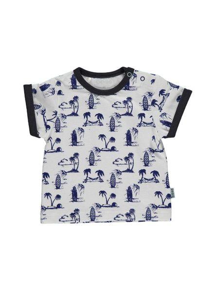 b.e.s.s. T-shirt Boys Surf 1847-001 Katoen