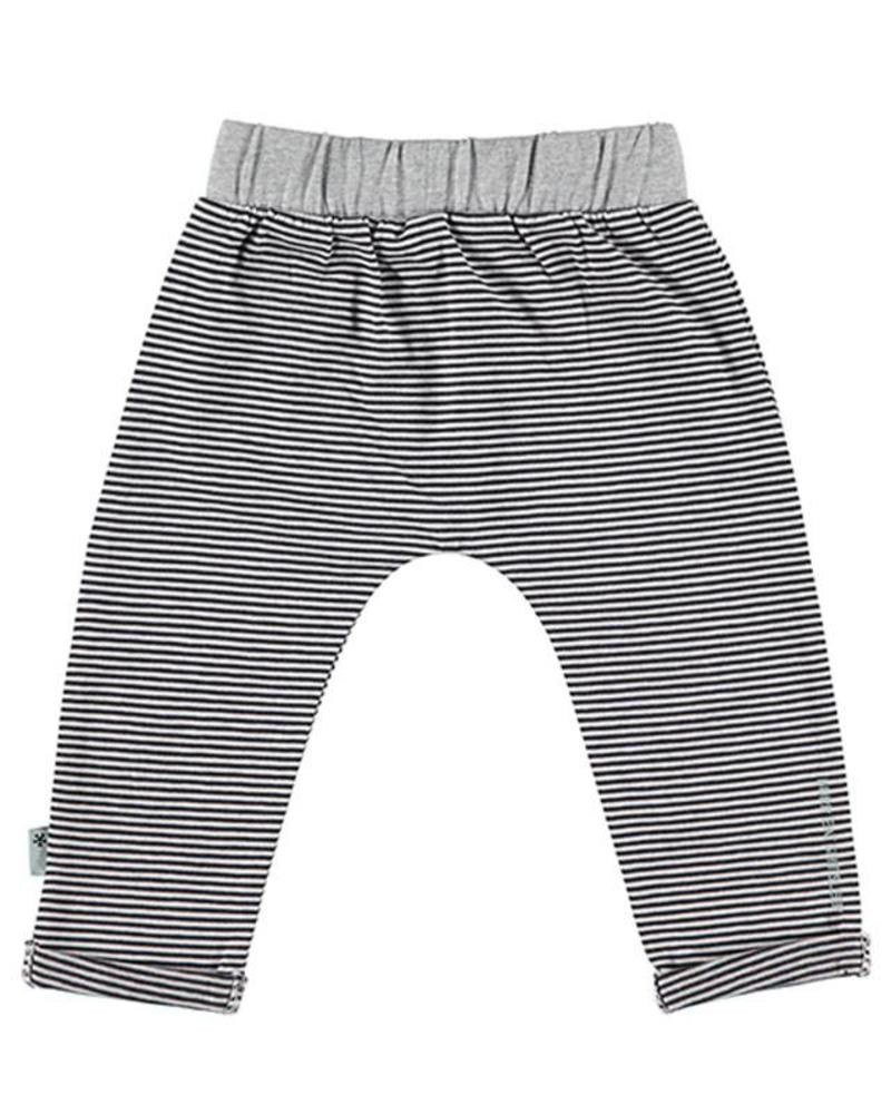 b.e.s.s. Bess Jersey Pants Unisex Stripe 1843-001 Katoen