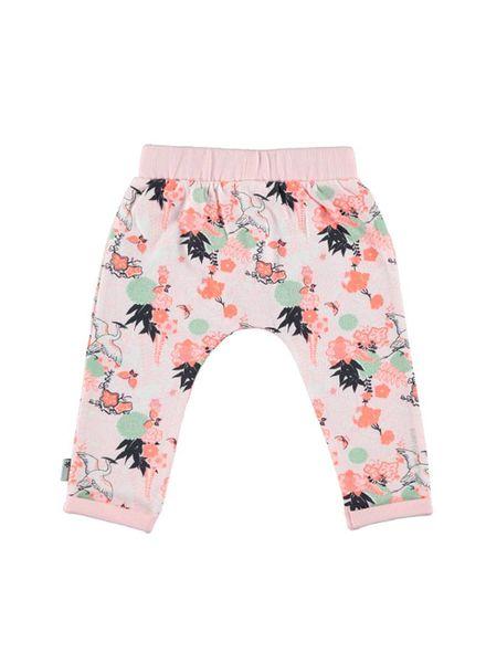 b.e.s.s. Bess Jersey Pants Girls Flowers 1839-007 Katoen