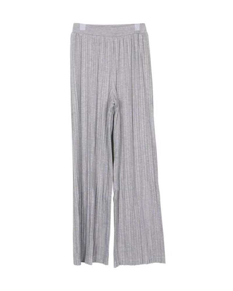 Grunt Grunt Hai Crop Pant Grey Melee 1823-429 Katoen