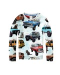 The future is ours Sweater Dad's Jeep Multi Katoen