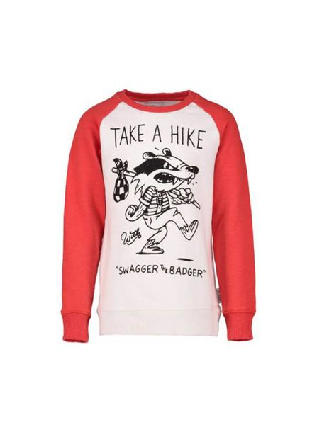 The future is ours Sweater Swagger-S Off White Katoen