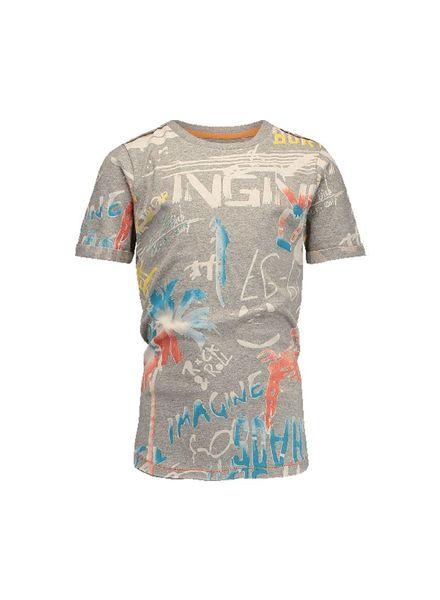 Vingino t-shirt Herrie Grey Melee Katoen