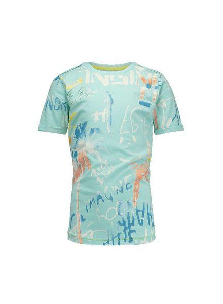 Vingino Vingino t-shirt Herrie Island Blue Katoen
