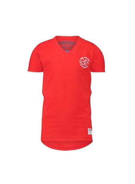 Vingino T-shirt Hersie Coral Katoen
