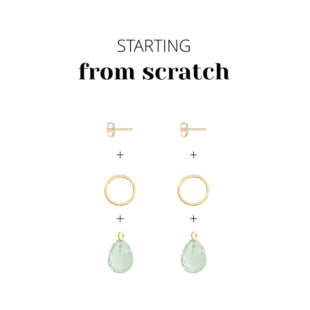 Design Your Own 14 Carat Golden Earrings At The Jewelry Lab