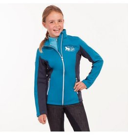 BR Softshell jas  Heather junior Blue
