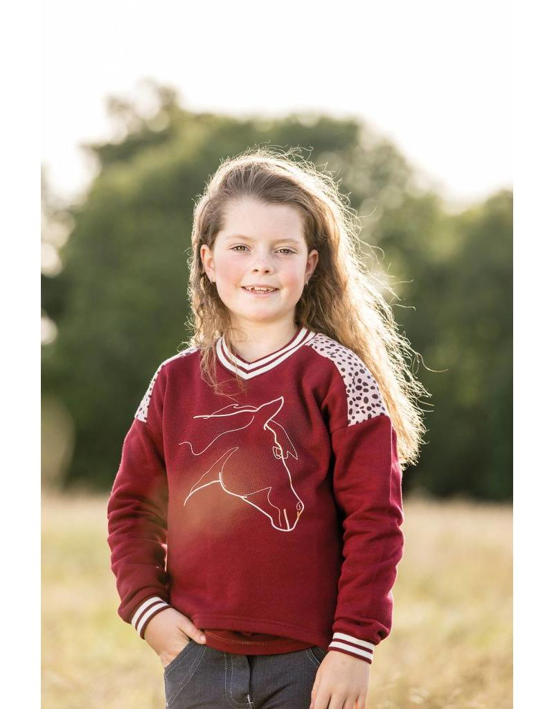 Horseware Sweater Wine