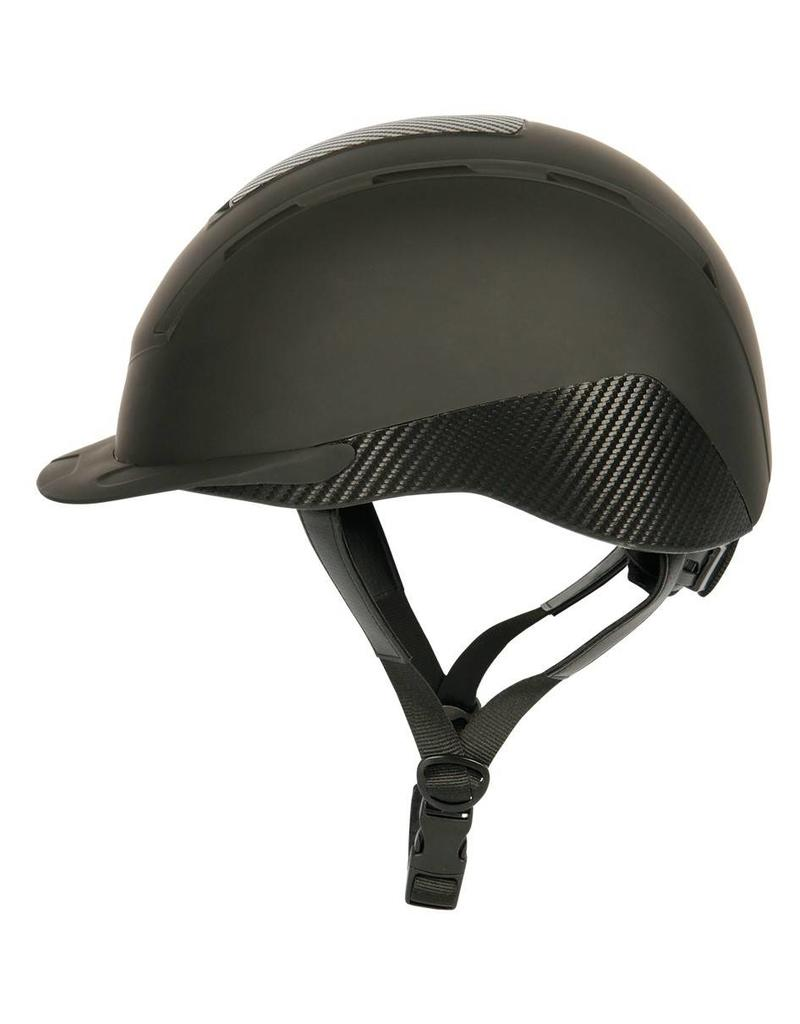 Harry Horse Safety ridinghelmet, Carbonero
