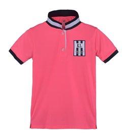 Kingsland Polo Kingsland Pano JR Pink Neon