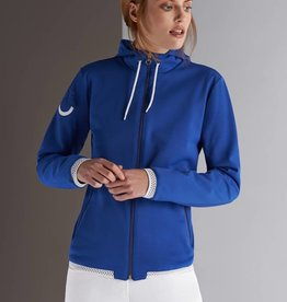 Cavalleria Toscana Sweatjacket  CT Piquet Donna Blue 7500