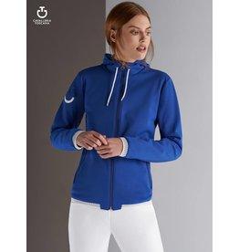 Cavalleria Toscana Sweatjacket  CT Piquet Donna Blue 7500