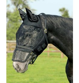 Qhp Fly Mask with detachable nose flap