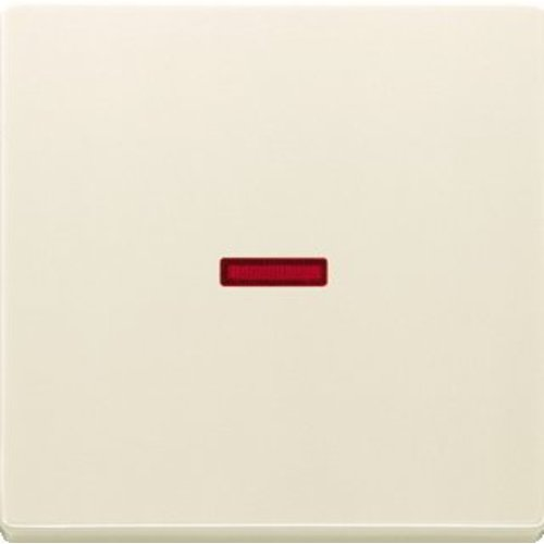 Busch-Jaeger schakelwip controlevenster rood creme (1789-82)
