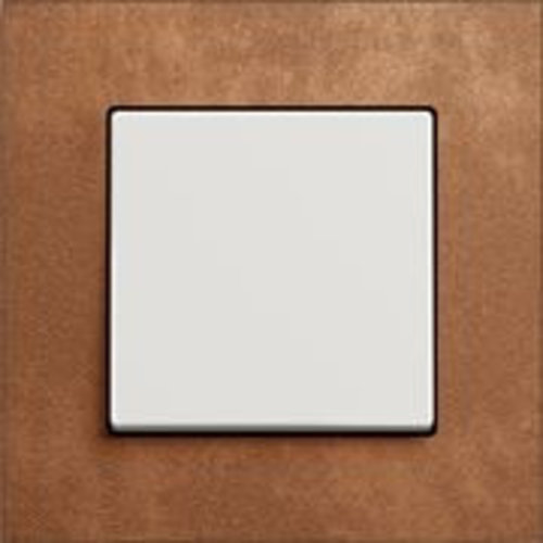 Carat brons/wit