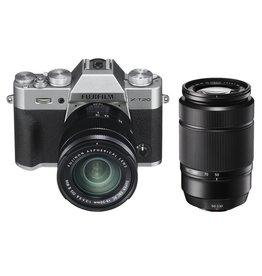 Fujifilm Fujifilm X-T20 Kit XC16-50mm II & XC50-230mm II Silver