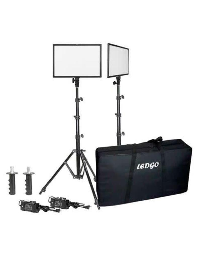 Ledgo Ledgo E268C Bi-Color kit w/light stands - 2 lights