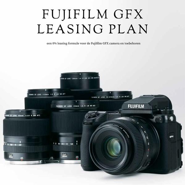 Fujifilm GFX Leaseplan