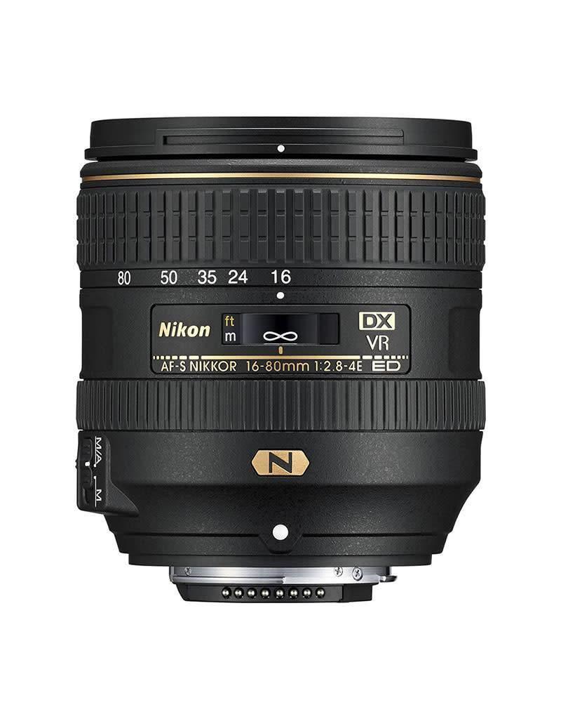 Nikon Nikon AF-S DX 16-80mm/F2.8-4.0E ED VR