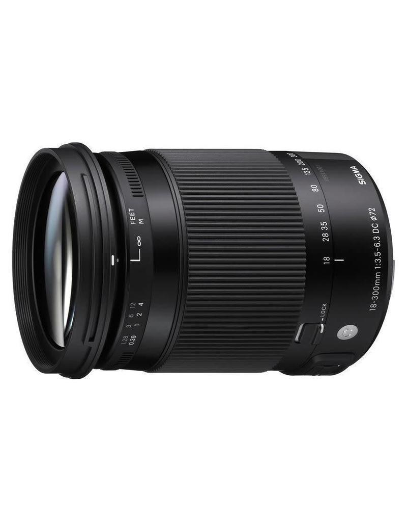 Sigma Sigma 18-300mm F3.5-6.3 DC Macro OS HSM (C) Nikon