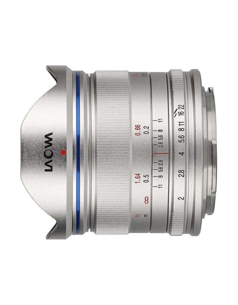 Laowa Venus LAOWA 7.5mm f/2 - Lightweight Silver - M4/3