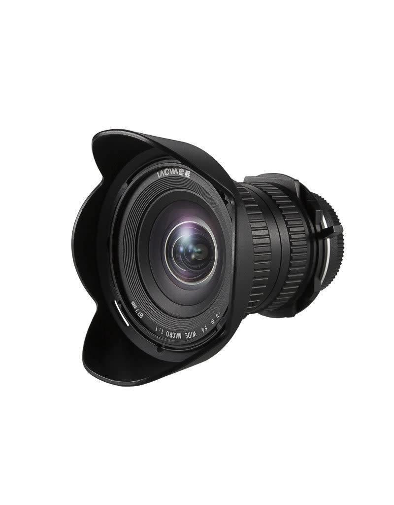 Laowa Venus LAOWA 15mm f/4 1X Wide Angle Macro Lens - Nikon F