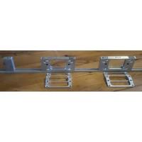 Combi scharnier freesmal 76-89mm voor raam