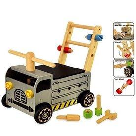 I'm Toy  Houten Loopwagen Werktruck; I'm Toy