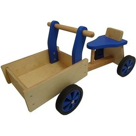 Playwood Kinderbakfiets hout Blauw