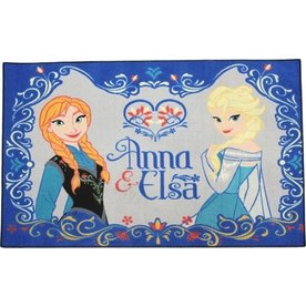 Worlds Apart Vloerkleed /Speelkleed Frozen Anna en Elsa