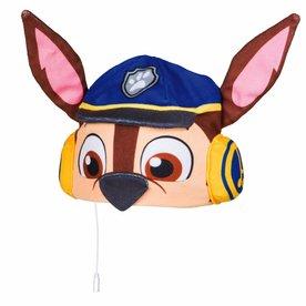 Paw Patrol Chase koptelefoon met muts