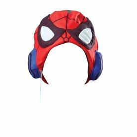 Spiderman koptelefoon met muts