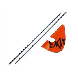 Exit EXIT Veiligheidsvlag (voor Foxy en Spider)