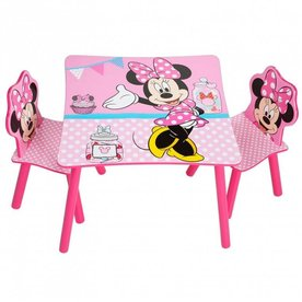 Worlds Apart Minnie Mouse Tafel met Stoeltjes, Worlds Apart