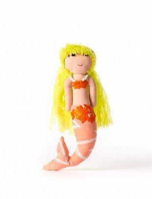 Duduk pop  zeemeermin duduk geel