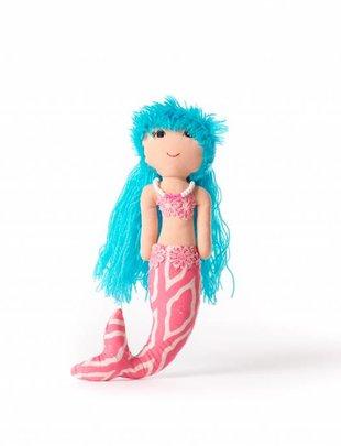 Duduk pop  zeemeermin duduk blauw