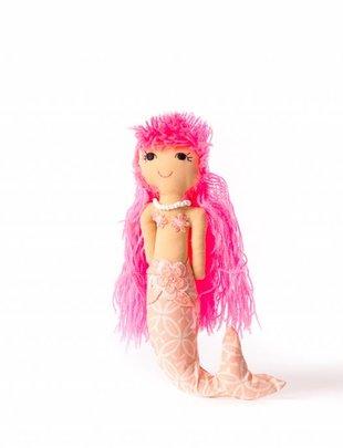 Duduk pop  zeemeermin duduk roze