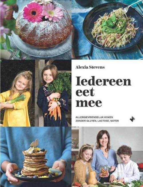 Boek : Iedereen eet mee Alexia Stevens