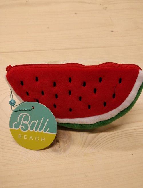 toilet tas pennezak watermeloen rood