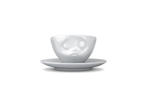 Tassen Tassen - kop en schotel - kussend