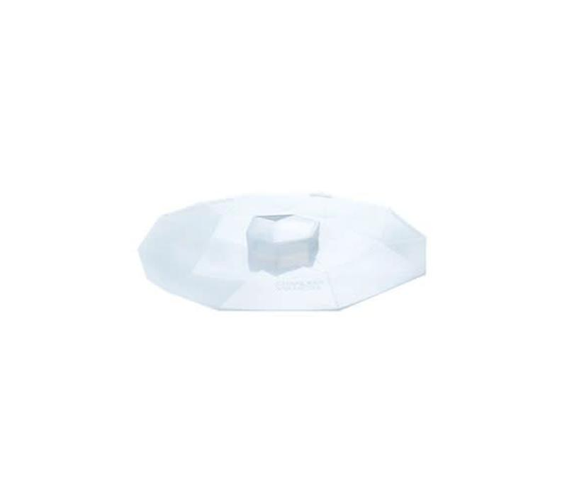 Charles Viancin - siliconen deksel - crystal (20 cm.)