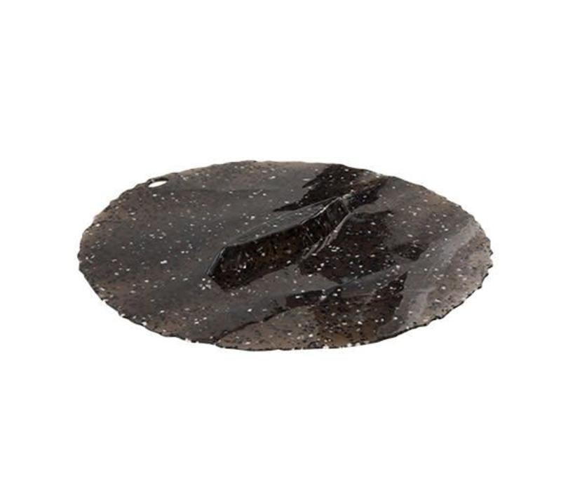 Charles Viancin - siliconen deksel - granite (28 cm.)