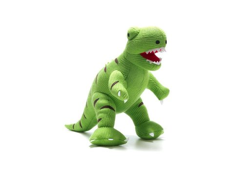 Best Years Best Years - gebreide knuffel (groot) - t-rex