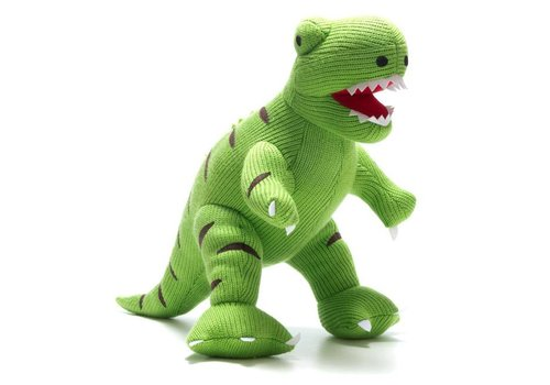 Best Years Best Years - gebreide knuffel (super size) - t-rex