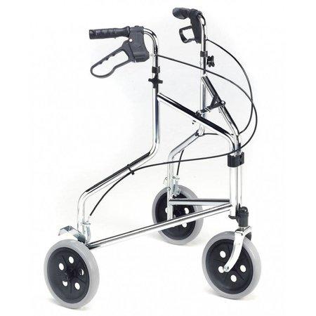 Roma Medical 2320 3-wiel rollator met handrem