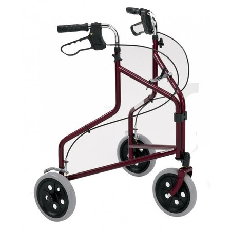 Roma Medical 2320 3-wiel rollator met handrem