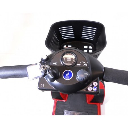 Pride scootmobiel opvouwbaar GoGo Ultra X 4 wiel