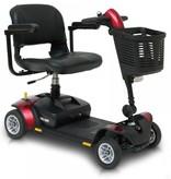 Pride scootmobiel opvouwbaar GoGo Elite Traveller LX 4 wiel