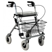 Safety Walker 4-wiel rollator