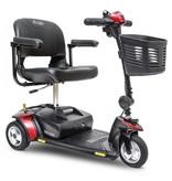 Pride scootmobiel opvouwbaar GoGo Elite Traveller 3 wiel